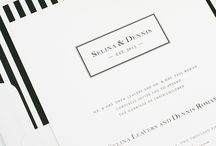 Invitations  / Invitations can give guest a glimpse of what to look forward to on your wedding day.  / by Southern Sparkle Weddings and Events
