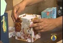 caixas em papel paraná