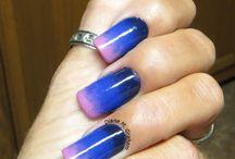 a Nails gradientes