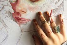 Portrait painting inspo