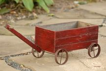 Old Wood Crate Projects / by Mary Weaver