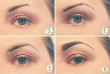 Eye make-up / by Rhonda Hammock