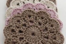 Coasters / Crochet coasters and place mats.