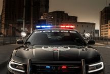 Super cars in police