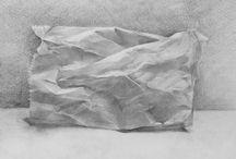 Study: Drapery and Folds