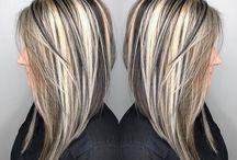 H Hair Blonde