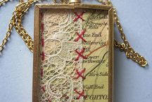 Jewelry using lace