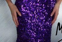 9 Vestidos de fiesta purpura