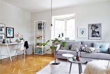 Sofá y combinación de colores