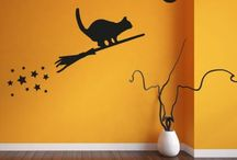 Halloween Wall Stickers / Halloween Party Ideas