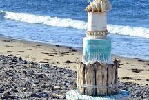 >> Mariage en bord de mer << / Sable blanc et mer turquoise inspirent de nombreux mariés ! Voici quelques idées salées !