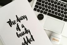 I ❤️ Blogging / All about My Blog - From my Blogging Inspiration to my Photos and Reviews it's all here! Visit www.TheDiaryofaBeautyAddict.com #TheBeautyAddict