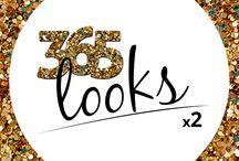 #365Looksx2 / O blog 365 Looks x2 é das amigas brasilienses, Thaís e Amanda, duas incorrigíveis gastadeiras que gostam de moda. Em 2015 elas toparam um desafio: 365 dias sem comprar roupas, sapatos, bolsas e acessórios. A ideia é montar 365 looks diferentes com as peças que ambas possuem e o objetivo é, em primeiro lugar, ECONOMIZAR, além de exercitar a criatividade, dimensionar a quantidade de peças, ter um acervo digital e, ao final do desafio, fazer um limpa no armário.
