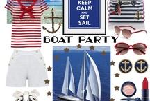 Boat birthday party