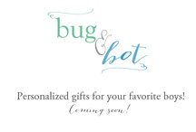 Personalized Gifts for Kids from Bug & Bot / Personalized lunchboxes, personalized puzzles, stickers and more!  / by Carey @ Addie & George