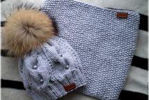 вязанье шапок и снудов