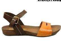 Sandalias / Diseños y novedades para mujer: Sandalias en piel y piel natural y nubuk para ella.