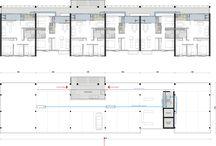 Arquitetura plantas, cortes e fachadas