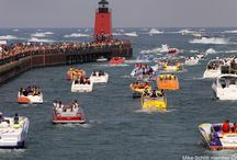 Summer in Charlevoix, Michigan / Summer time is a great time to plan your stay in Charlevoix, Michigan.  http://www.visitcharlevoix.com