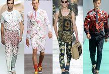 Men Floral Print / How to wear ! men Floral print I adore!