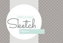 INKspired Sketchs / We are 11 INKspired Artists coming together to sharing our spin on a INKspired sketch. We love to share Stampin' Up! and INKspiration.