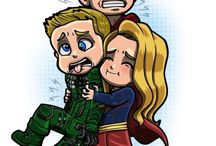 Arrow + Flash + Supergirl