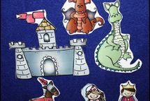 Preschool ~ Fairy Tales & Nursery Rhymes / by Jill Dodds