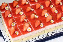 Backen Erdbeer