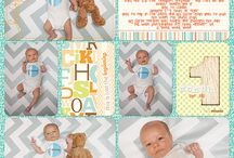 Jase's Baby Boy Album- Project Life Scrapbook