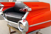 Cadillac Deville 59 / Cadillac Deville 59, sofa TV