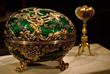 Fabergé / Fabergé created items and things that also put me in mind of the true Fabergé items