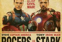 • Civil war (Steve or Tony?) • / Team Rogers vs. Team Stark fav. movie ❤