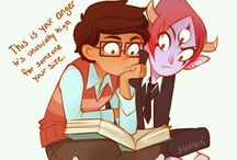 STAR VS THE FORCES OF EVIL Tom x Marco