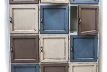 Edizione limitata / Dispensa 12 cassetti ideale per un'ambiente provenzale e moderno