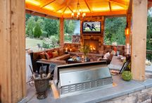 Outdoor Kitchen / Outdoor areas / by Jennifer Mc