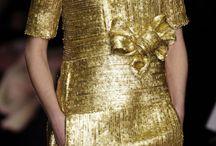 Gold dress color