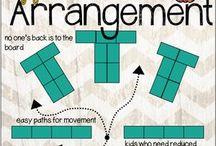 Desk arrangements