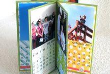 Calendar Craftiness / Lots of ideas for calendars, mini calendars and calendar cards, too!