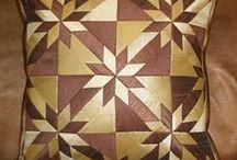 patchworkové polštáře