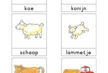 thema boerderij dieren