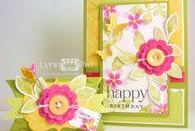 Papertrey cards I {heart}