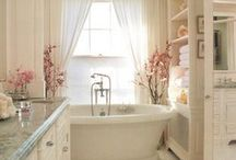 future bathroom ideas! / by Lesley Haskell