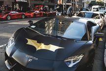 Super Hero's Vehicules