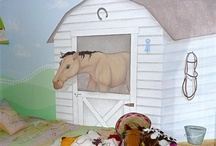 horse mural ideas