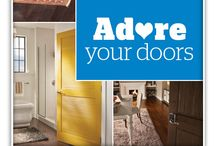Adore Your Doors / Our doors aren't just there to let you in and out – they can be stylish centerpieces that define an entire room's look. Follow us on Pinterest and learn how you can show your doors some love. Repin your favorite ideas and enter to win a prize package worth $2,000 to make over your doors! Visit schlage.com/AdoreYourDoors to enter. #AdoreYourDoors - 03.04.2015  / by Monica Kim