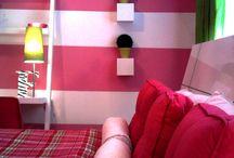 Preteen girl's room