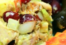 Recipes For Chicken Salads / by Lynn Morris