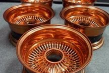 electroplated copper