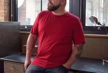 We Are Casual - Plus Size Men Collection / Our basics are available up to 5XL. No matter what shape or size we have something for everyone! In our basics you look amazing no matter which size.