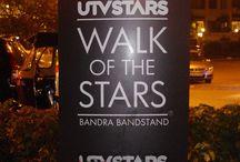 UTV Walk of Stars - Bandra / UTV Walk of Stars - Bandra